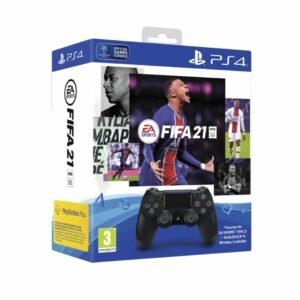 PS4 Sony Dualshock Controller V2 Black (Crni) + FIFA 21 Digitalni Code+ FUT VCH + PS+14dana