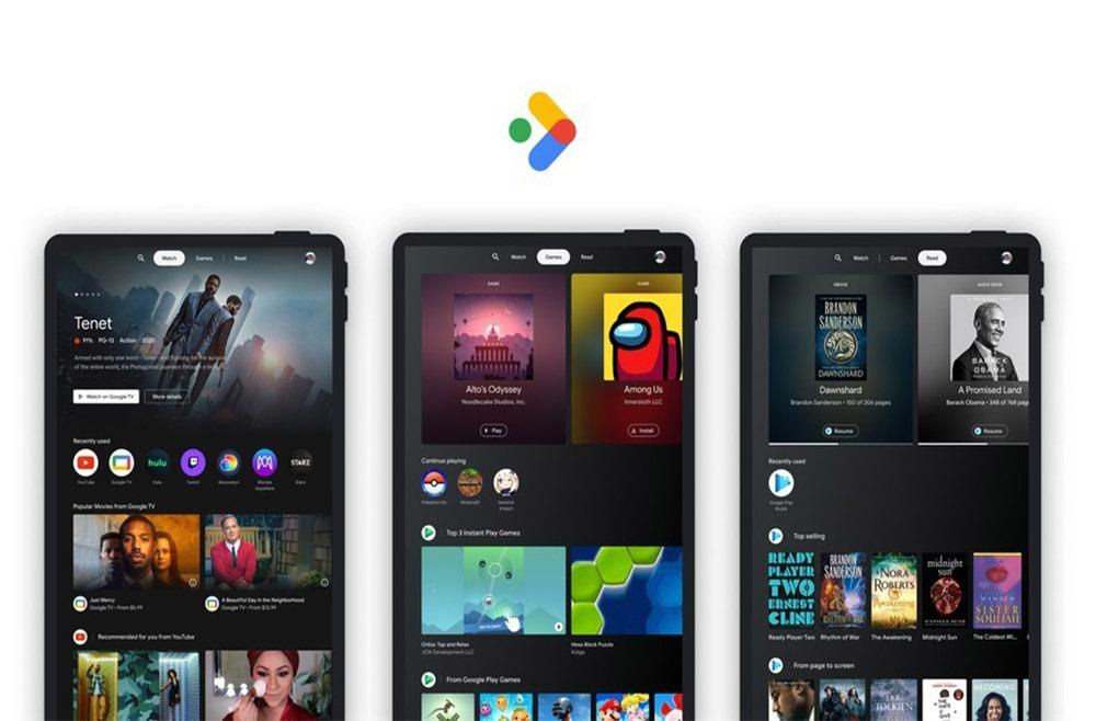 Google Entertainment Space novosti za tablete StirLine