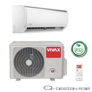 Vivax Q dizajn serija 2,93kW, ACP-09CH25AEQI R32
